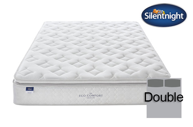 Silentnight Miracoil Laila Eco Comfort Pillow Top Double Mattress