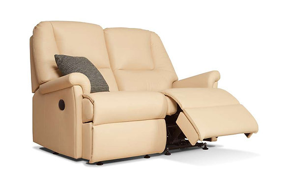 Sherborne Milburn Leather 2 Seater Recliner Sofa