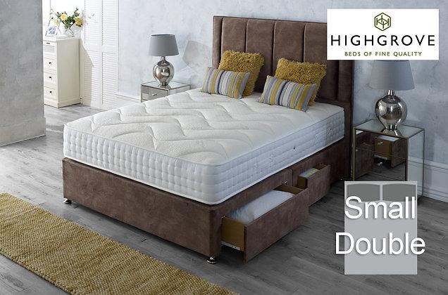 Highgrove Ambassador 1000 Small Double Divan Bed