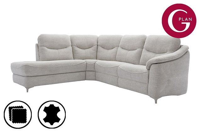 G Plan Jackson LHF Chaise Corner Sofa