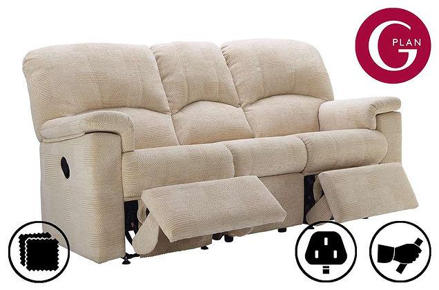 G Plan Chloe 3 Seater Double Recliner Sofa