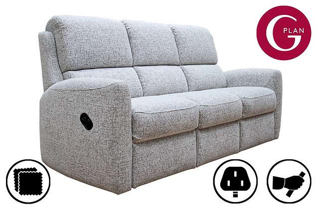 G Plan Hamilton 3 Seater Recliner Sofa