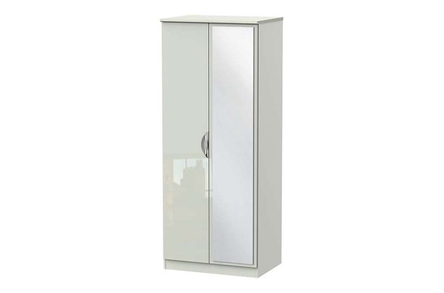 Icon 2ft6in Double Mirrored Wardrobe