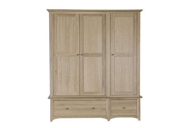 Charmwood 3 Door, 2 Drawer Wardrobe