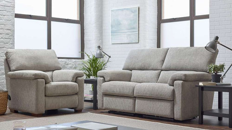 Ernest 3 Seater Sofa and Armchair