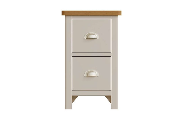 Boston Small 2 Drawer Bedside Cabinet