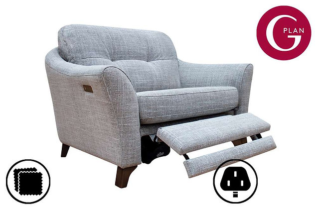 G Plan Hatton Snuggler Sofa With Power Foot Rest