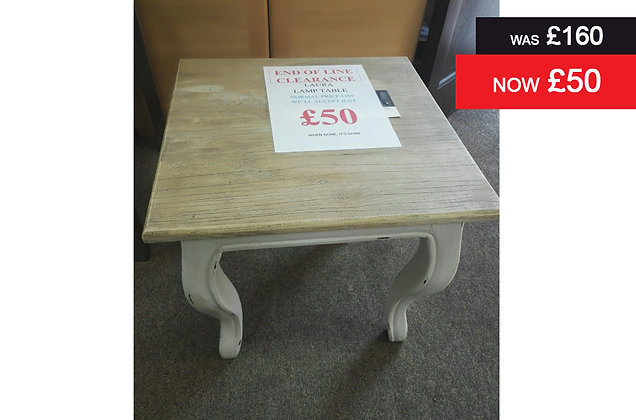 Laura Square Lamp Table