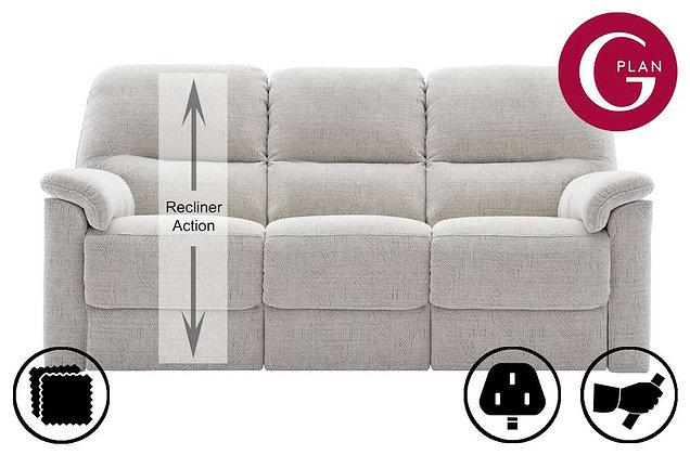 G Plan Chadwick 3 Seater LHF Single Recliner Sofa