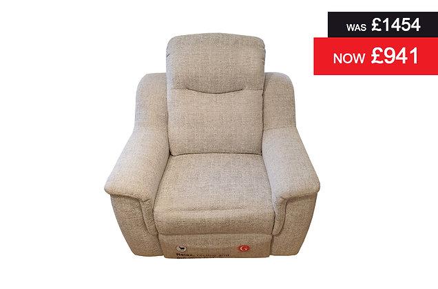 G Plan Firth Power Recliner Chair - Eider Grey