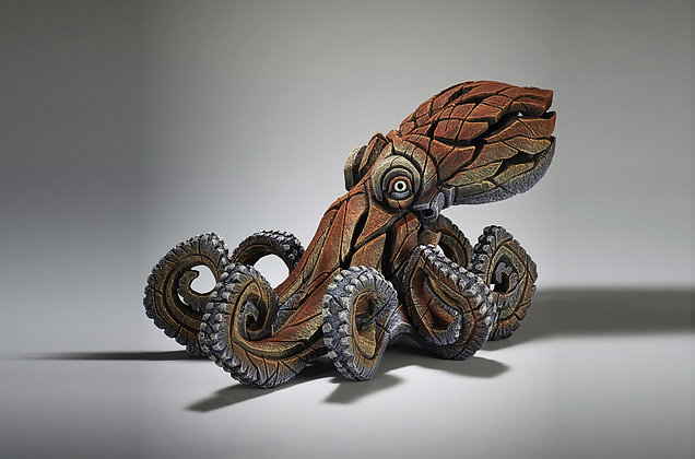 Edge Sculpture Octopus Figure