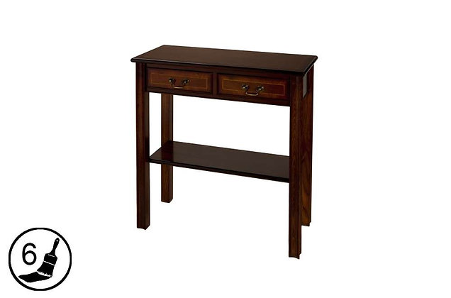 Simply Classical 2 Drawer Chippendale Hall Table