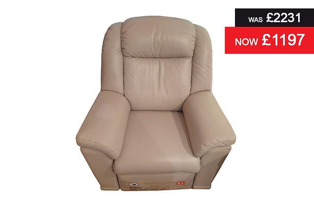 G Plan Milton Recliner Chair - Capri Putty