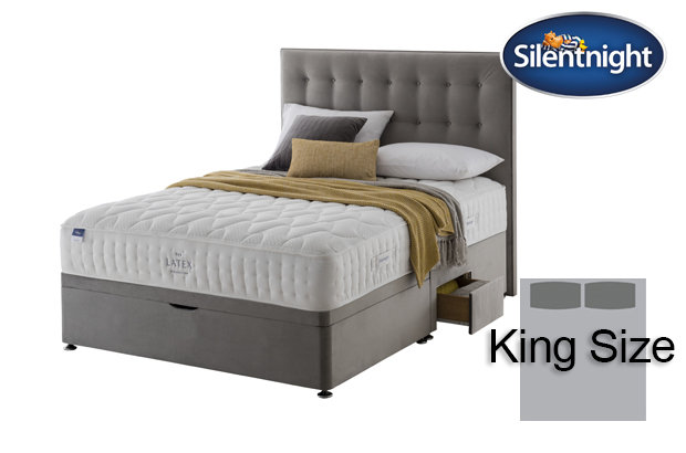 Silentnight Miracoil Arella Latex King Size Divan Bed