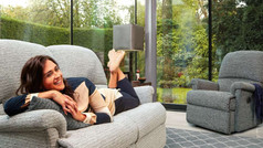 Wexford Fabric 2 Seater Sofa & Armchair
