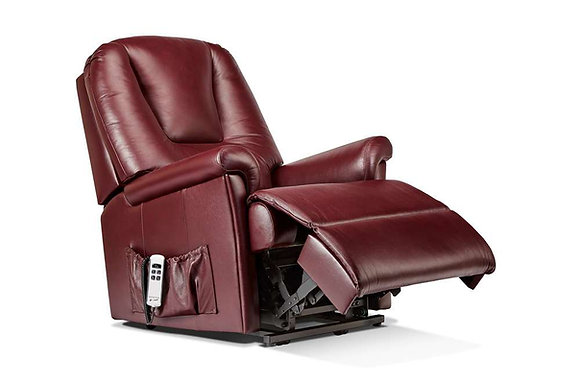 Sherborne Milburn Leather Royale Lift & Rise Care Recliner Chair