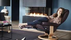 Ekornes Stressless Leather Swivel Recliner Chairs | Gordon Busbridge Furniture | Hastings, Eastbourne, St Leonards on Sea, Bexhill & Seaford
