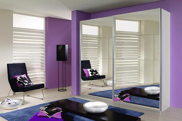 Collection 11 Sliding Door 181cm Wardrobe – with All Mirror Doors