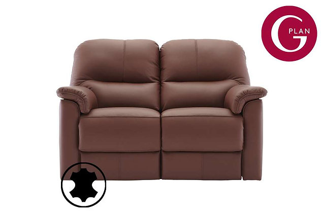 G Plan Chadwick Leather 2 Seater Sofa