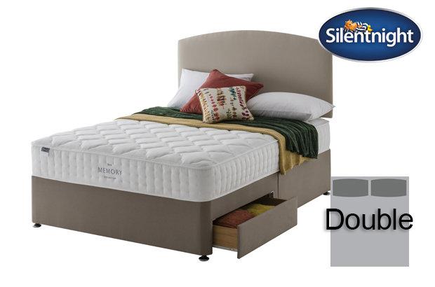 Silentnight Mirapocket Castiel Memory 800 Double Divan Bed