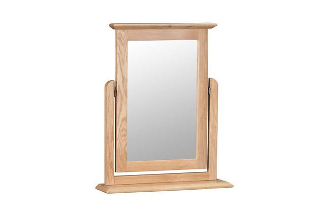 Bembridge Oak Dressing Table Mirror