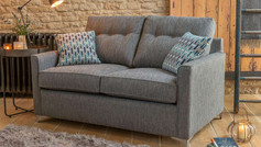 Alstons Lexi 2 Seater Seater Fabric Sofa