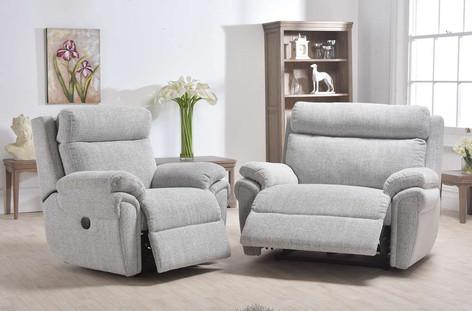 Ludlow Recliner Chair & Snuggler Recliner