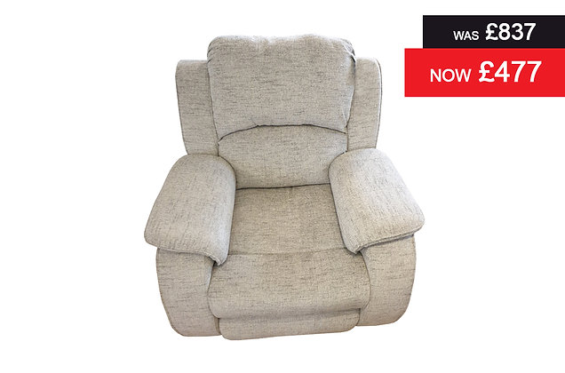 Chester Recliner Chair - Grey Patchwork