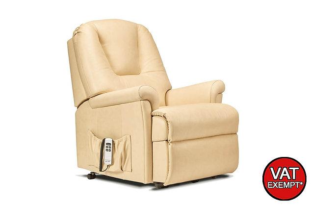 Sherborne Milburn Leather Standard Lift & Rise Care Recliner Chair
