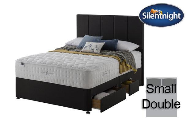 Silentnight Mirapocket Ivory Eco Comfort 1400 Small Double Divan Bed