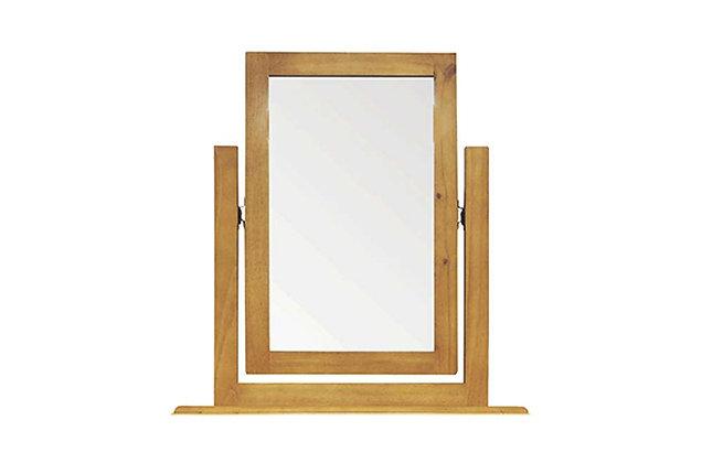Budget Pine Vanity Mirror
