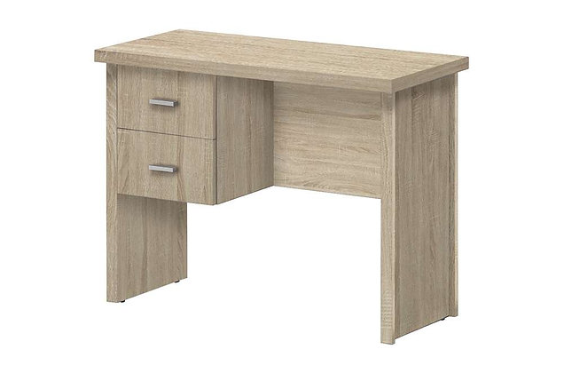 Oscar 2 Drawer Desk 1000 – Light Oak