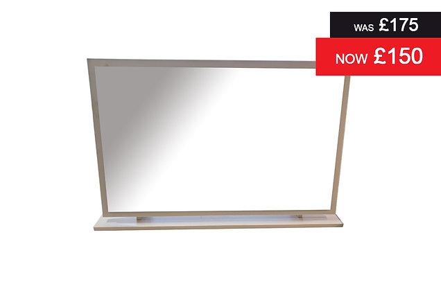 Clifton Large Single Mirror - Grey