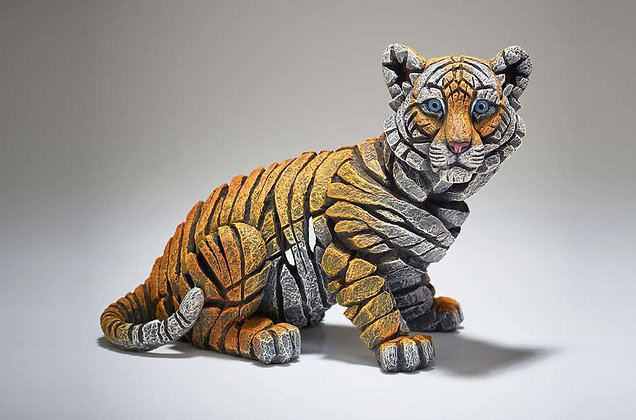 Edge Sculpture Tiger Cub Figure