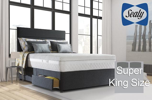 Sealy Hybrid Pocket Perfection 2200 Super King Size Divan Bed