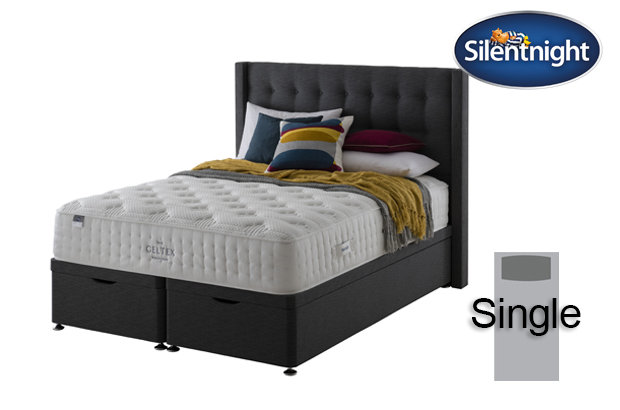 Silentnight Mirapocket Sublime Geltex 2000 Single Divan Bed
