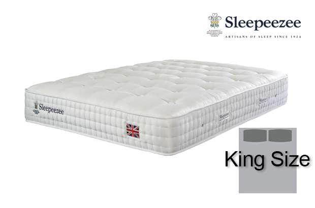 Sleepeezee Perfectly British Regent 2600 King Size Mattress