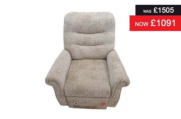 G Plan Holmes Power Action Recliner Chair - Hascombe Sand