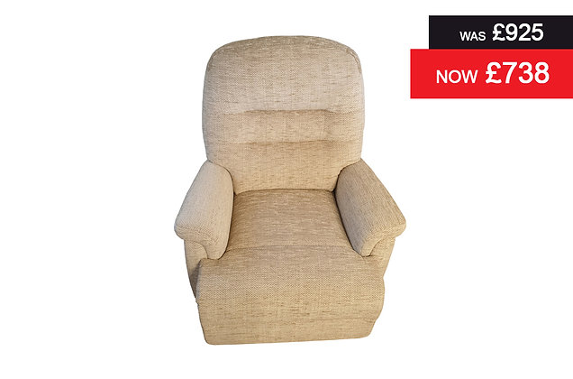 Sherborne Keswick Petite Recliner Chair - Seattle Jute