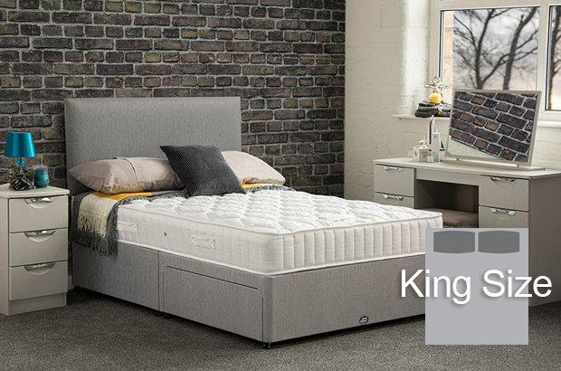 Brunel King Size Divan Bed