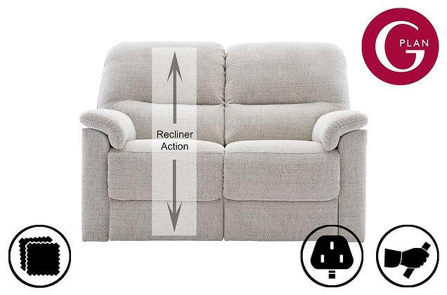 G Plan Chadwick 2 Seater LHF Single Recliner Sofa