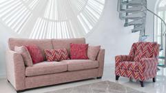 Laughton Grand Sofa & Accent Chair