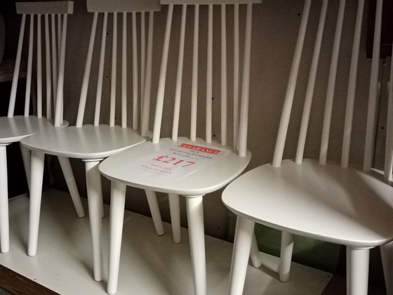 Isla Set of 4 Dining Chairs - White
