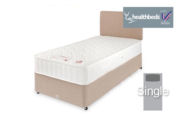Healthbeds Polo Single Divan Bed