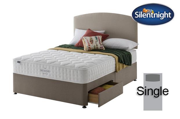 Silentnight Mirapocket Castiel Memory 800 Single Divan Bed