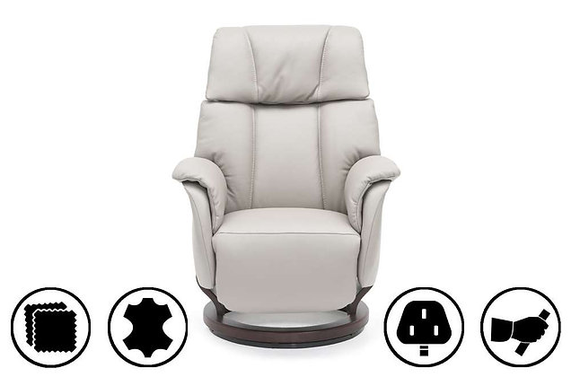 Kolding Large Recliner Chair with Integrated Footrest