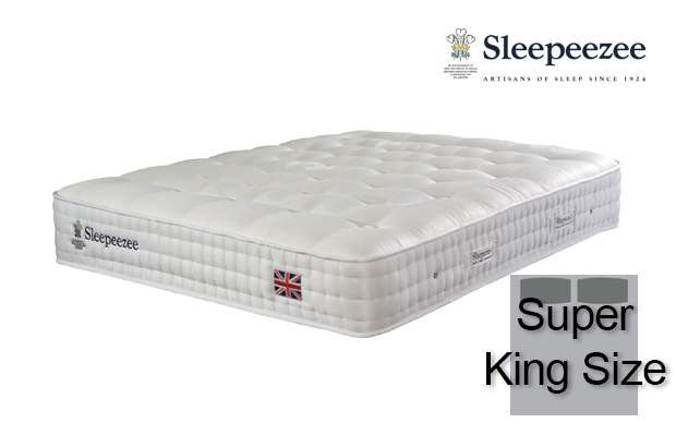 Sleepeezee Perfectly British Strand 1400 Super King Size Mattress