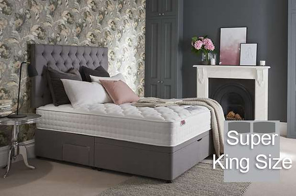 Rest Assured Timeless Aydon Silk 2000 Super King Size Divan Bed