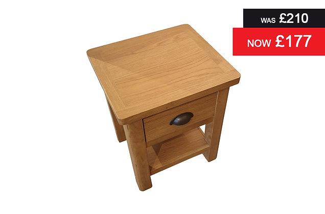 Medium Oak Lamp Table