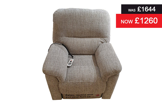 G Plan Chadwick Elevate Lift & Rise Recliner Chair - Alford Denim